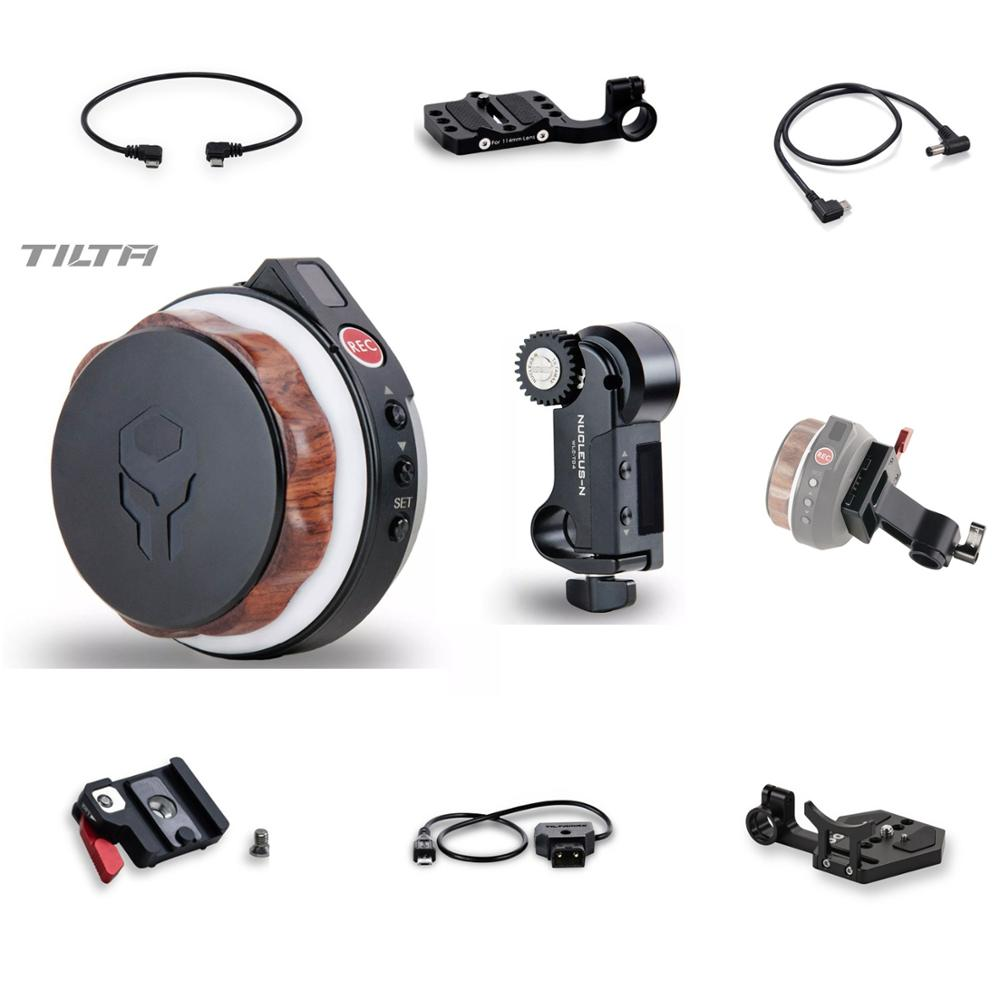 Tilta noyau-Nano sans fil suivre focus accessoire moteur volant câble d'alimentation 15mm adaptateur fr ROIN S 18650 batterie