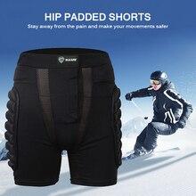 Шорты для катания на лыжах по суше гоночный доспех колодки бедра ноги мужские спортивные штаны для катания на коньках спортивная защита шорты зимний Сноубординг катание на лыжах
