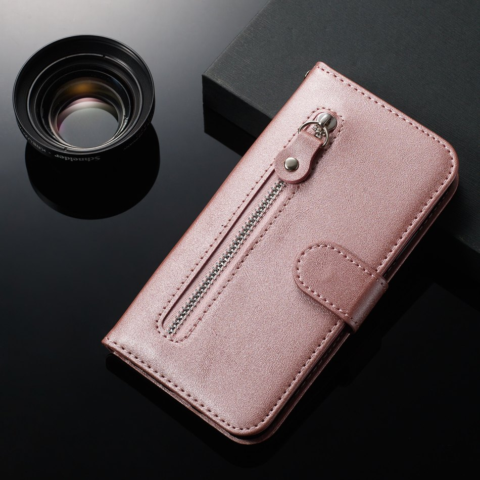 Wallet Case For Bag Samsung Galaxy A51 A71 S20 Ultra J6 J4 Plus A750 A7 2018 M10 A10 A20E A20 A30 A40 A50 A60 A70 Zip Cover V27H