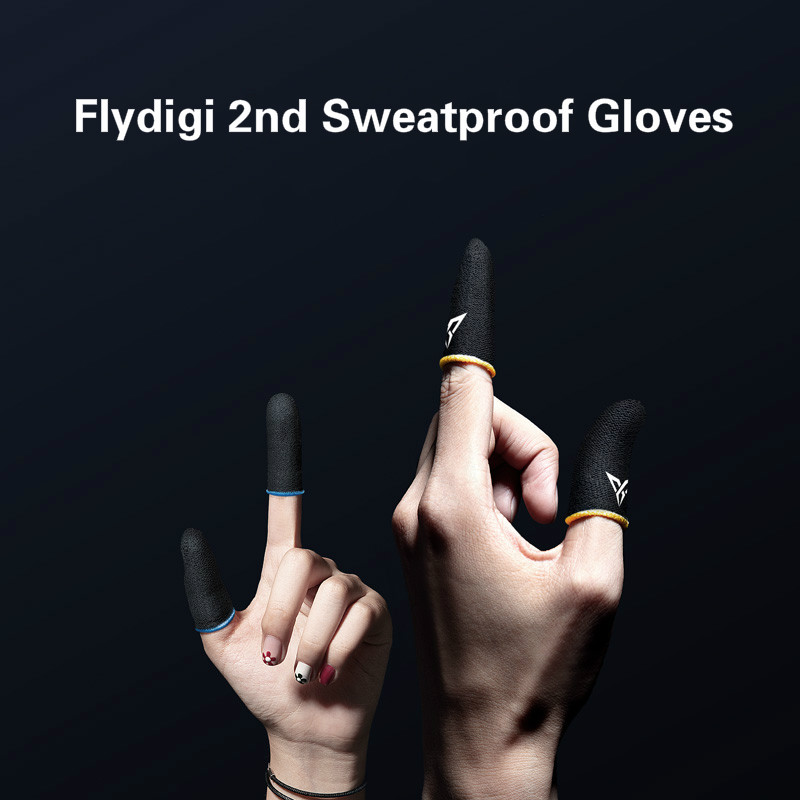 Flydigi Mobile Phone Gaming Sweat-Proof Finger Cover Glory Artifact PUBG Peace Elite Game Occupation Touch Screen Thumb Gamepad(China)