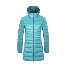 Ultra-light Plus Size Thin Down Jacket Women 2019 Autumn Win