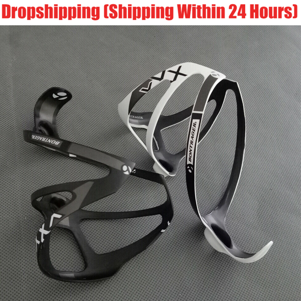 Bicycle Water Bottle Holder Carbon Fiber Cycling Cage Rack Sport Bike AccessorRS
