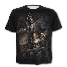 Ужас триллер футболка Лидер продаж мужские футболки Объёмный