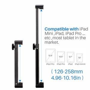 Image 5 - Ulanzi Alle Metalen Aluminium Statief Mount Voor Ipad/Ipad Pro/Ipad Mini Lucht, tablet Statief Höder Stand W Hot Shoe/Quick Release Plaat
