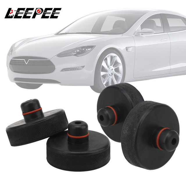 4Pcs Lifting Equipment Jack Lift Point Pad Adapter Chassis Jack For Tesla Model X/S/3 Jack Pad Tool Car Styling Accessories
