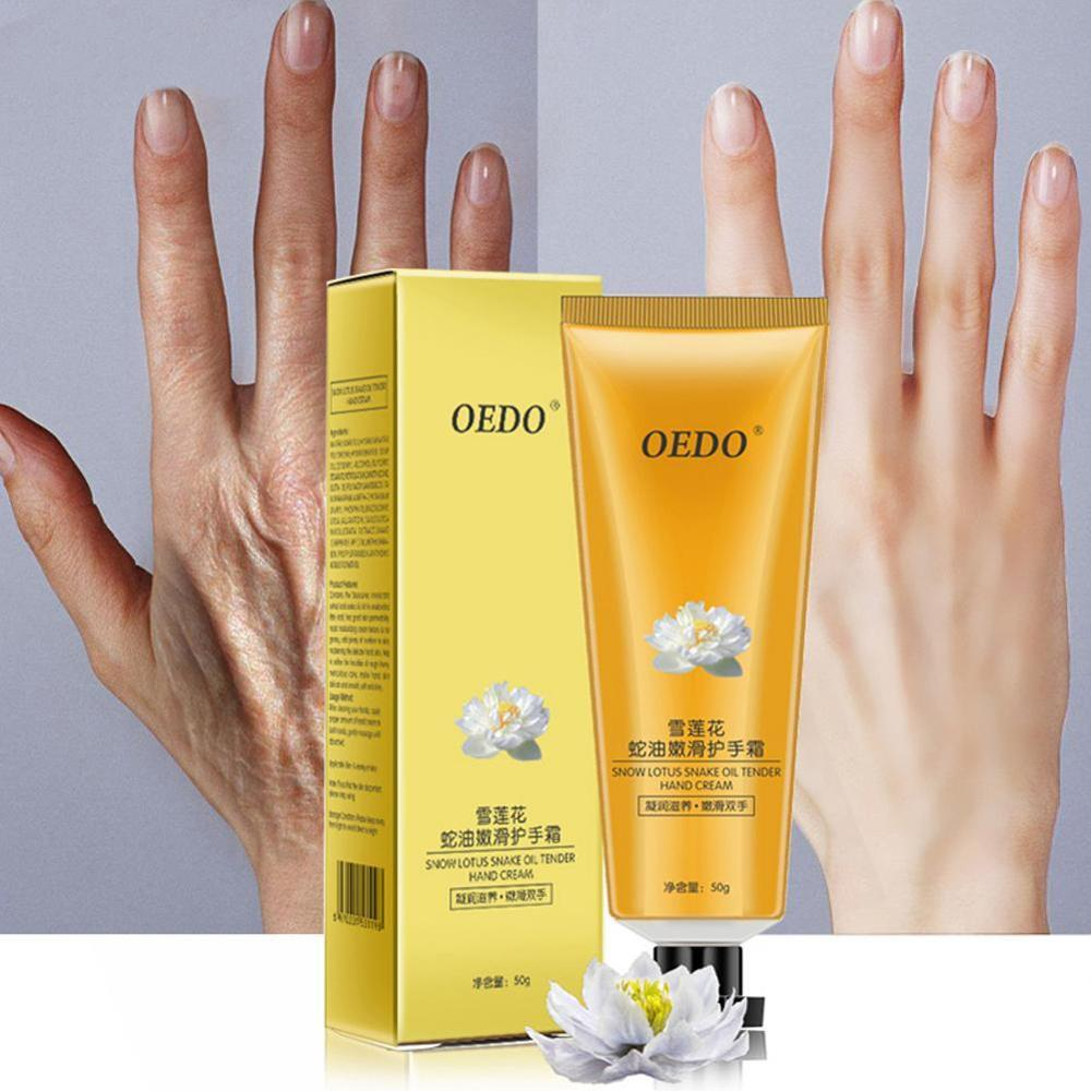 Snow Lotus Snake Oil Moisturizing Cream Anti-Wrinkle Whitening Sunscreen Hand Skin Care Products