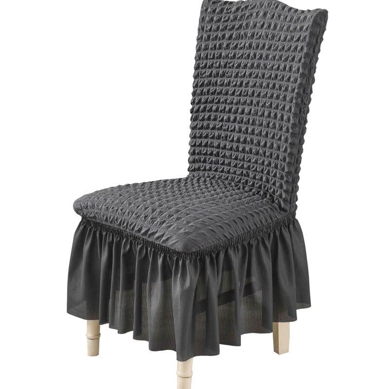 Чехлы на стулья для дома, кухни, столовой, эластичные, съемные, моющиеся, без рукавов, чехлы на сиденья, защитные, вечерние, чехлы на сиденья