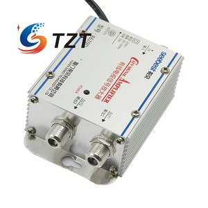 Image 4 - Tzt Seebest SB 8620D2 Kabel Tv Signaal Versterker Splitter Booster Catv Versterker 2 Output 20DB