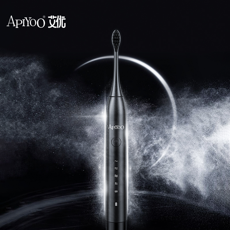 Apiyoo Y8 Starry Sky Series Rechargeable Electric Toothbrush Automatic Sonic Brush 5 Mode Adult Timer IPX7 Waterproof Ultrasonic