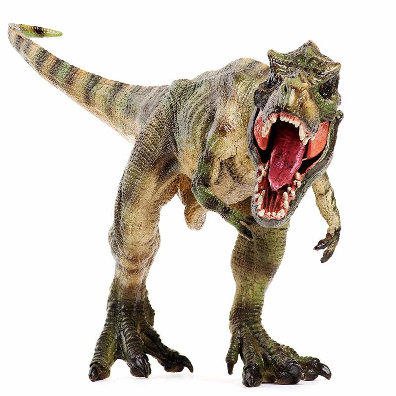 Plastic Animal Tyrannosaurus Toy Action Figures Realistic Design Dinosaur Toy Puppets Model PVC