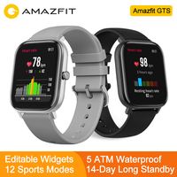 (Plaza)Global Version Huami amazfit GTS Apple smart watch appearence 1.65 inch