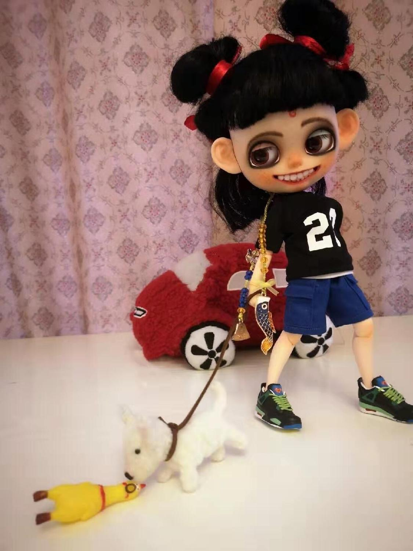 Una muñeca Nazha muy popular.