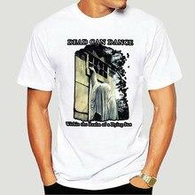 Camiseta negra de Death Can Dance, camisetas informales de talla grande, estilo Hip Hop, S-3Xl-5003A