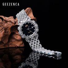 925 Sterling Thai Silver Quartz Bracelet Watch For Men And Women Trendy Vintage