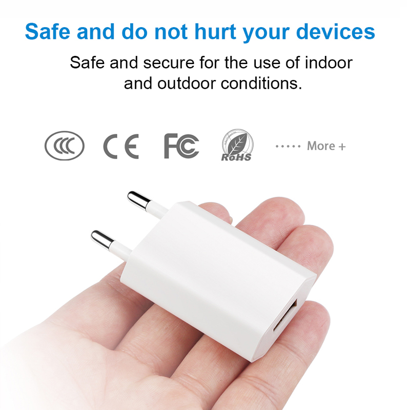 Image 4 - Hot Selling High Quality European EU Plug USB AC Travel Wall Charging Charger Power Adapter For Apple iPhone 6 6S 5 5S 4 4S 3GS-in Mobile Phone Chargers from Cellphones & Telecommunications