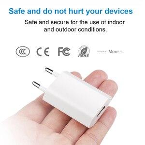 Image 4 - ホット販売高品質の欧州 eu プラグ usb ac トラベル壁の充電アダプタ apple の iphone 6 6 s 5 5 s 4 4 s 3GS