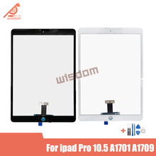 цена на 10P For iPad pro 10.5 inch touchscreen A1701 A1709 A1852 Touch Screen Digitizer Display Front Outer Panel Glass Assembly Replace
