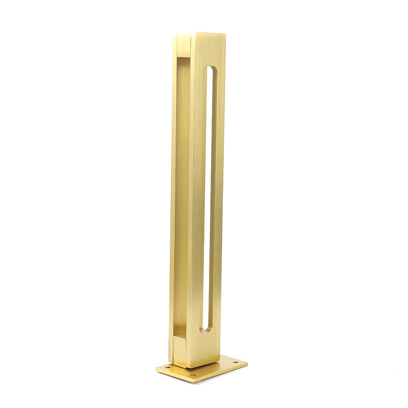 4pcs/lot Gold Sofa Leg Cabinet Legs Side Table Feet Metal Furniture Support For Wardrobe TV Cabinet Holder