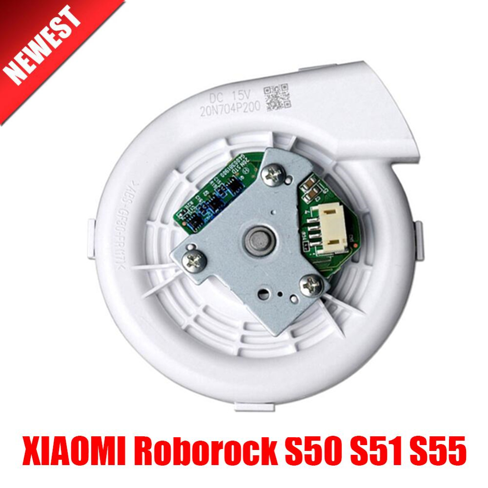 1pcs Original Ventilator Motor Fan For XIAOMI Roborock S50 S51 S55 Robot Vacuum Cleaner Spare Parts