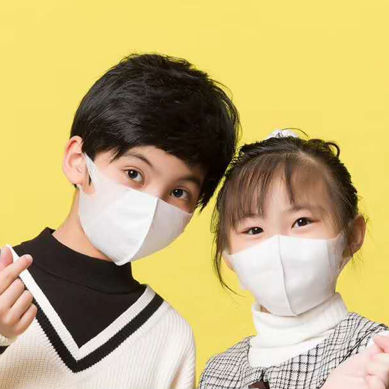 50 Pcs/lot Anti Flu N95 Mask Anti Pollution Mask Dust Respirator N90 Kids Masks Melt-blown Nonwoven Breathing Mask Dust Masks