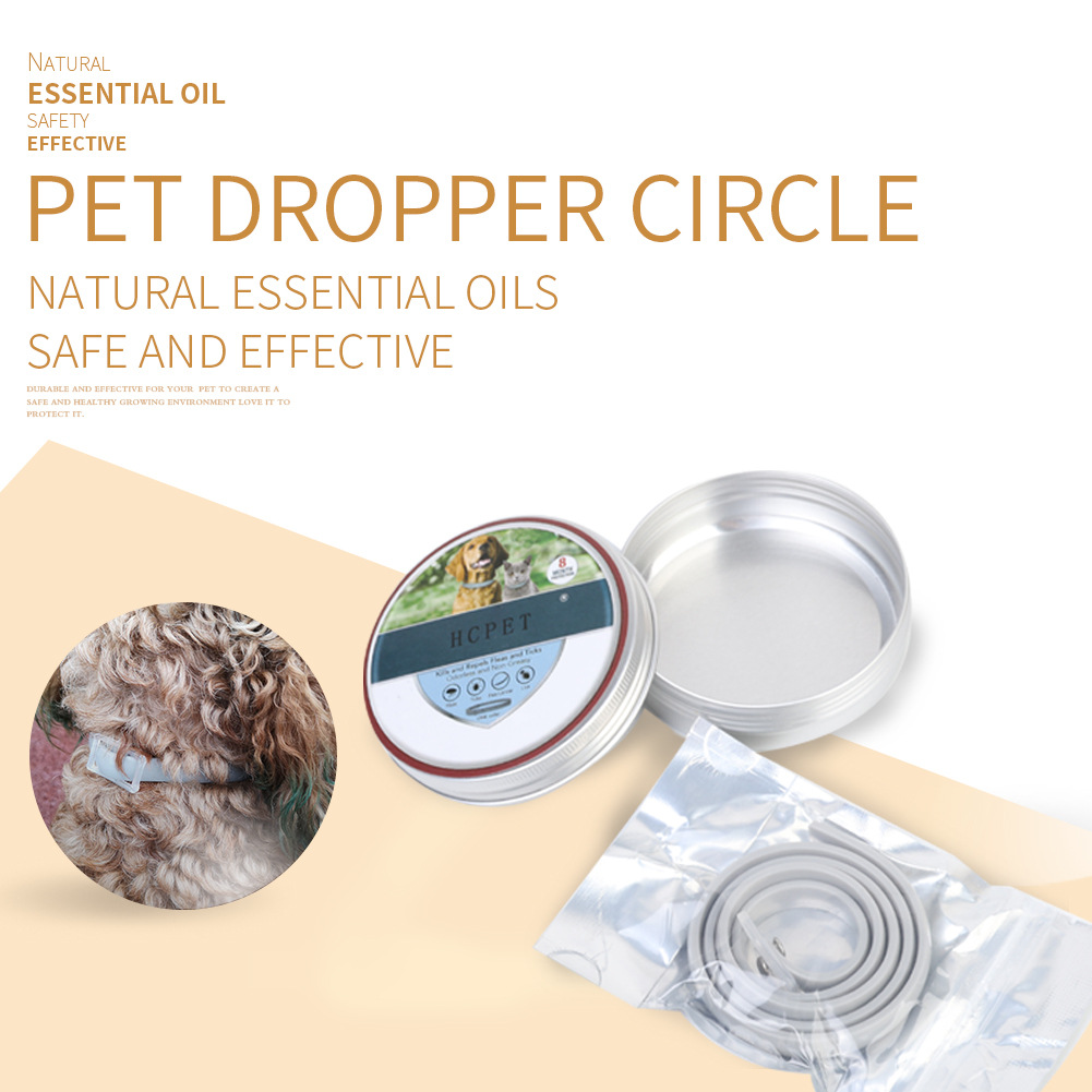 Pet Flea Neck Ring Cans Packaging Dogs And Cats Universal Style Natural Insect Repellent Flea Amazon Manufacturers Direct Sellin