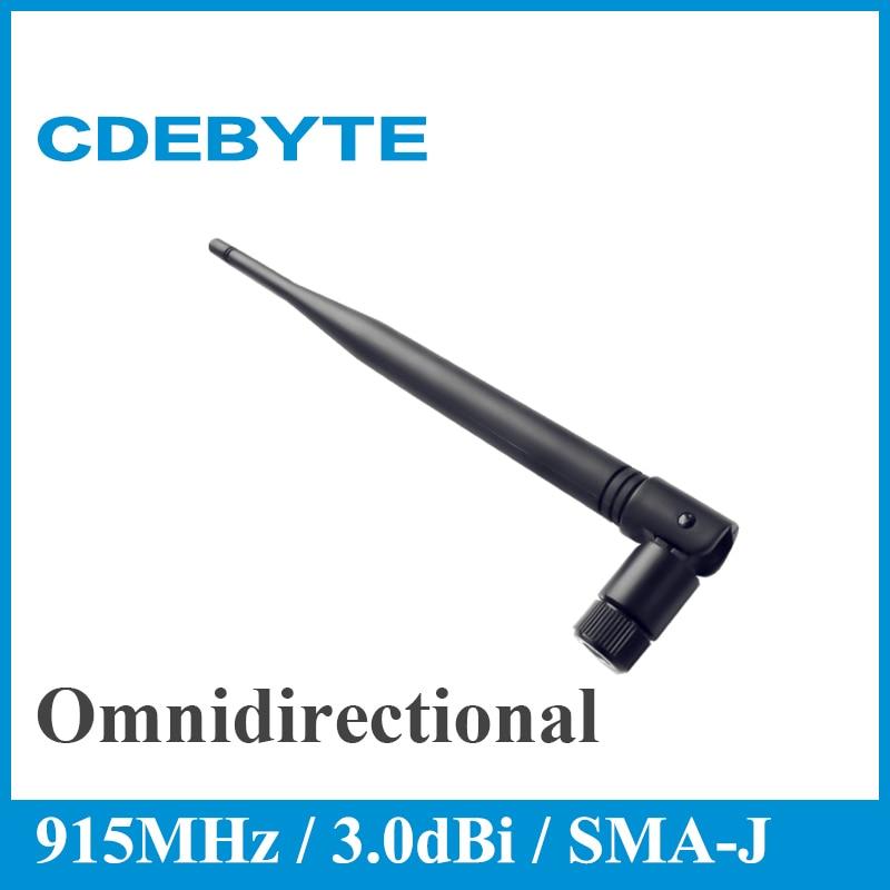 Ebyte TX915-JKS-20 915MHz Wifi Antenna 3.0dBi High Gain Omnidirectional Aerial Flexible SMA Interface