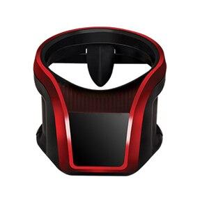 Image 1 - Auto Klimaanlage Outlet Wasser Tasse Trinken Halter Auto Magnet Handy Halterung Multi funktion Feste Hängen Tasse halter