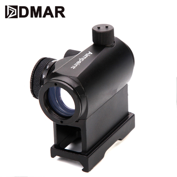T1 AimPoint Mini Red Dot Sight Scope Tactical Hunting Optics Riflescope 20mm High Mount for Air Rifle Airsoft With Quick Releas discovery hunting riflescope vt z 4x32 short economy air rifle riflescope with free scope mount