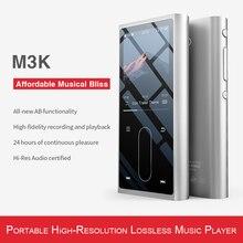 Металлический Чехол FiiO M3K, спортивный мини чехол с ЖК экраном, Hi Fi, mp3 плеером, музыкой, аудио МП, 3 с голосовым передатчиком для студентов и детей