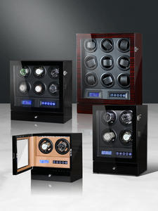 Watch-Winder Automatic Luxury Mechanical for Men 2/4/6/9-slots Box-Accessories Uhrenbeweger