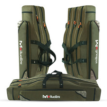 Case Fishing-Bags Reel-Lure Pole-Storage-Bags 100cm Multifunctional 3-Layer 3-Layer