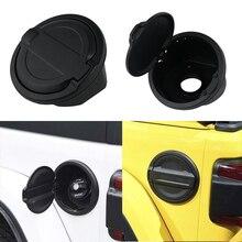 Крышка топливного бака газа Кепки черный АБС, алюминий для Jeep Wrangler- все 2 двери и 4 двери Jeep Wrangler JL модели