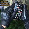 Перчатки с защитой от порезов, боевые военные митенки без пальцев, с сенсорным экраном, для пеших прогулок, охоты, мотоциклов, пейнтбола
