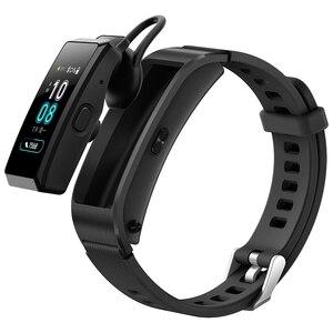 Image 4 - Original Huawei TalkBand B5 Talk Band B5 width Bluetooth Smart Bracelet Sports Wristbands Touch AMOLED Screen Call Earphone Band