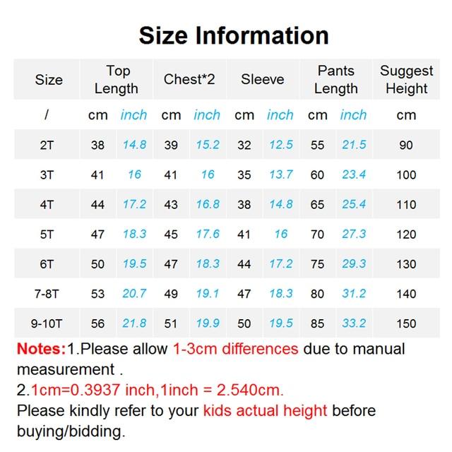 Conjunto deportivo para niños, ropa informal 5