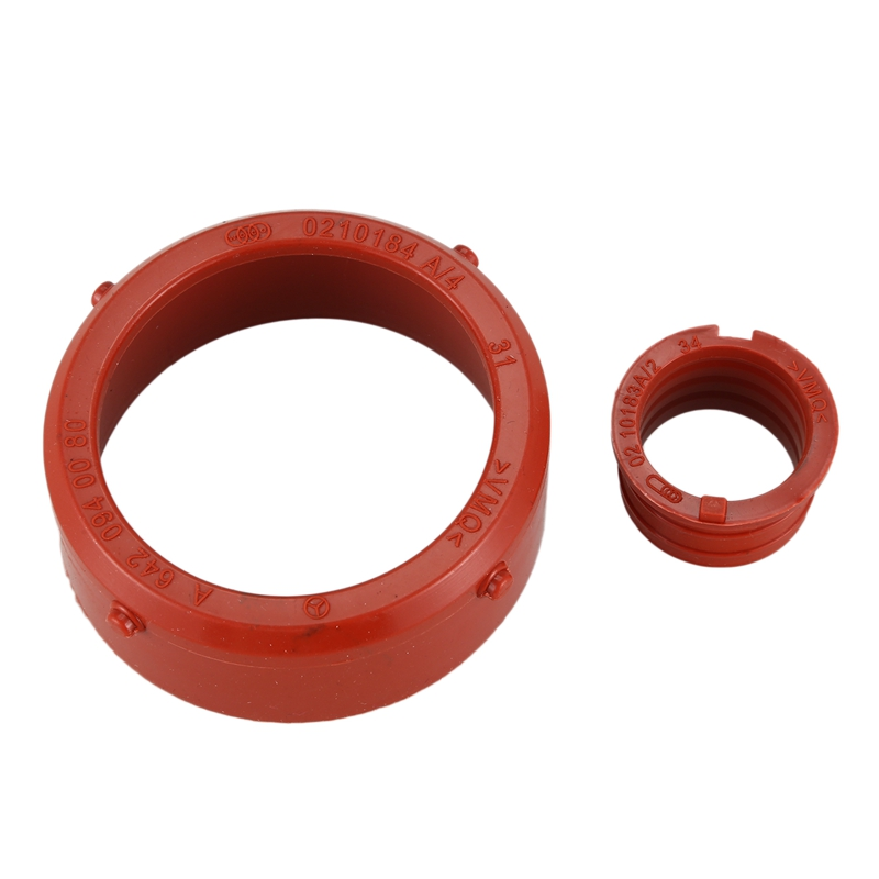 2pc For Mercedes-Benz <font><b>OM642</b></font> Turbo And Respirator Intake Seal Kit image