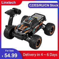Linxtech-coche de carreras teledirigido sin escobillas para niños, juguete de coche todoterreno, 16889 1/16 30/45 km/h, todoterreno, VS 12428
