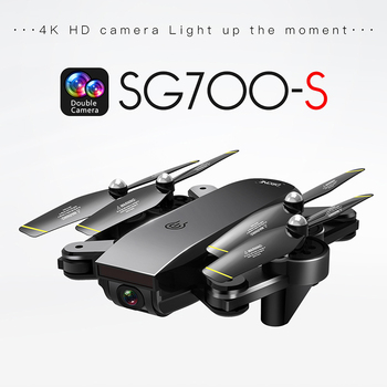 SG700-S RC Drone Dual Camera HD 4K WiFi FPV RC Helicopter Smart Fllow Foldable Quadcopter Optical Flow Positioning Drone Toys