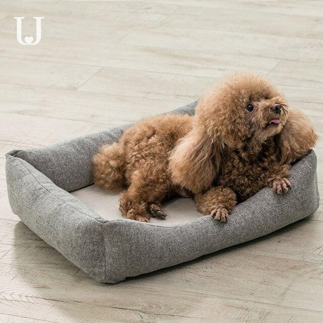 Youpin Jordan & Judy моющееся гнездо для домашних животных, Универсальный Коврик для кошек и собак, теплое переносное дышащее антибактериальное съемное гнездо