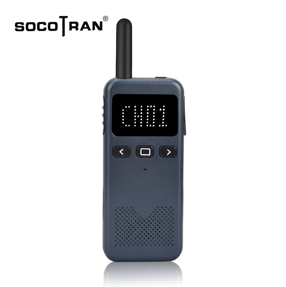 Mini Walkie Talkie With Display Screen High Power Intercom Portable Two Way Radio UHF Radio Comunicador Handy Talky