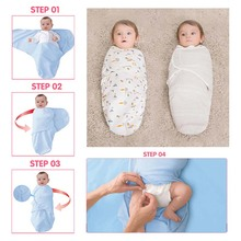 newborn baby swaddle wrap parisarc 100% cotton soft infant newborn baby products Blanket & Swaddling Wrap Blanket Sleepsack