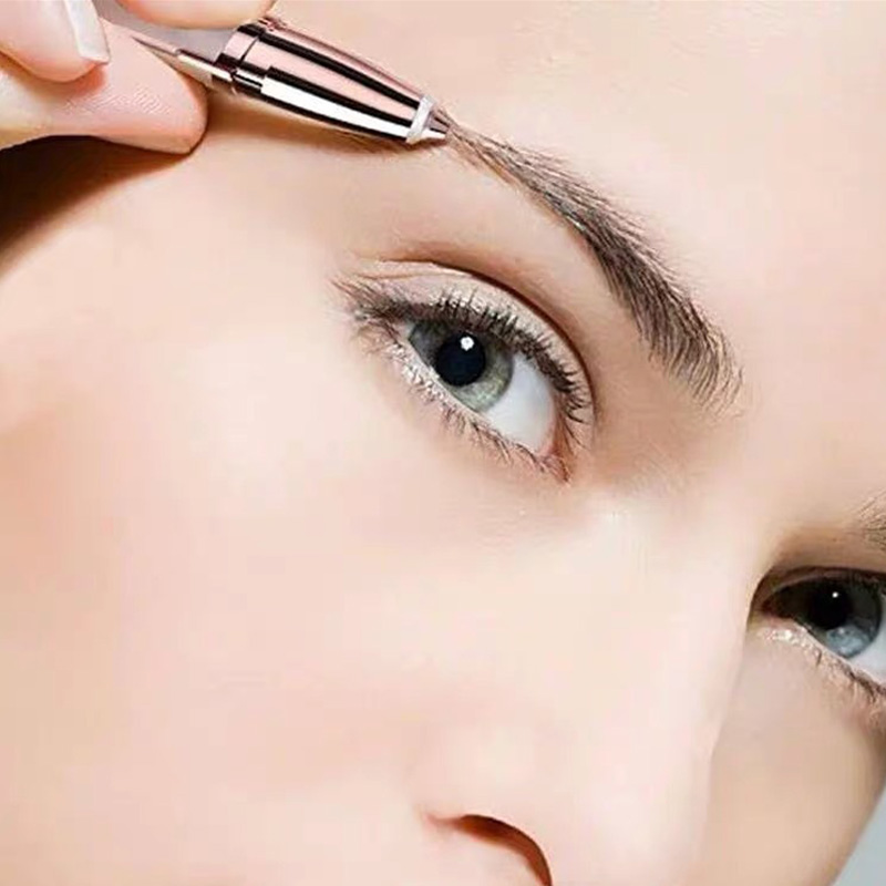 Brows Eyebrow Trimmer Mini Painless Eye Brow Epilator For Women Eyebrow Trimmer Dropshipping