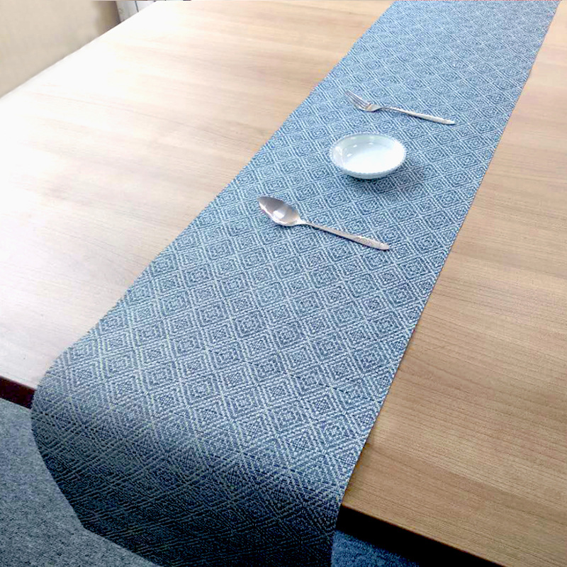 Fyjafon PVC Table Runner 30 180 free clipping Table Runners Washable Heat resistant Table Runner Hotel