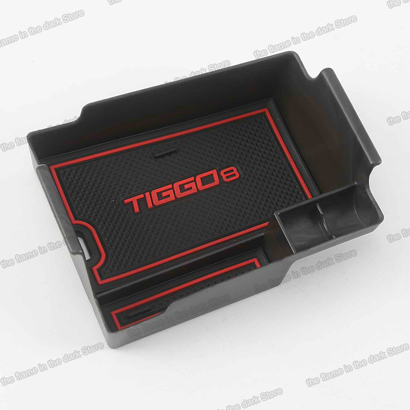 Lsrtw2017 for Chery Tiggo 8 Car Armrest Plate Storage Box Trims Interior Accessories Mouldings 2018 2019 2020 Auto(China)