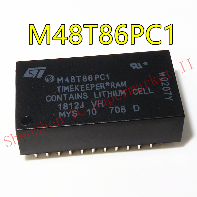 1pcs/lot M48T86PC1 M48T86PCI M48T86 DIP In Stock
