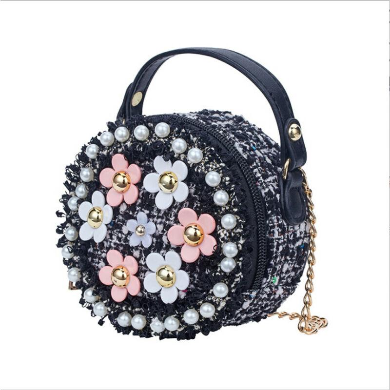 Girls Princess Bag Kids Baby Messenger Crossbody Bags Shoulder Stylish Zipper