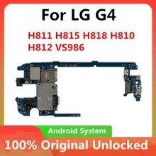 Fabrika kilidini anakart LG G4 H815 32GB orijinal anakart Android işletim sistemi için G4 H811 H818 H810 H812 anakart anakart