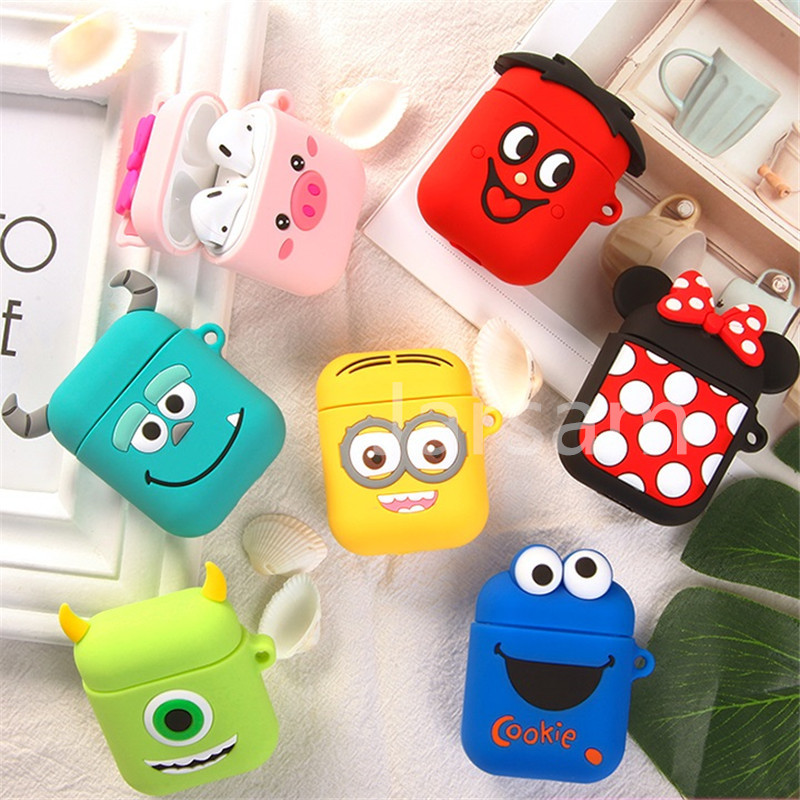 Wireless Earphone Case For Apple Airpods Silicone Headphones Cases For Airpods Protective Cover