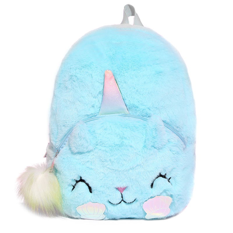 Backpack Travel Crossbody Bags For Girls Bags Plush Toys For Children Student Kid Birthday Party Gift Animal Backpack School New