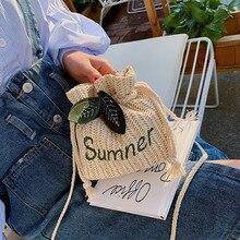 цена на Summer Bags Women Bag New 2019 Crossbody Bag Small Bag Casual Women's Shoulder Bag Straw Bag